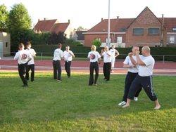 psd outdoor evening training