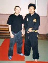 JC & Grandmaster Penchak Silat Teddy S