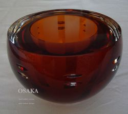 Bowl Osaka (amber version)