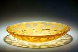 Dish Alice - (amber)