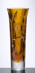 Vase Eole - (amber)