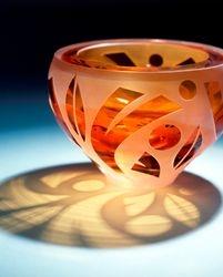 Bowl Garda - (amber)