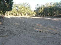 Upgraded sand arena