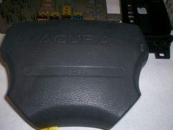 1991-1995 Legend driver air bag in black/type A