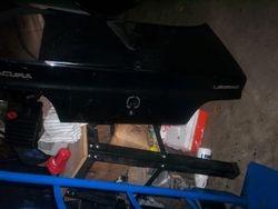 1991-1995 Legend sedan black trunk lid