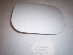 1991-1995 Legend fuel lid-door for a coupe in white