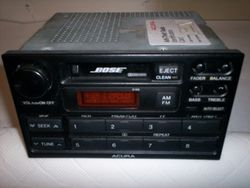 1991-1995 Legend Bose 2100 radio with security code