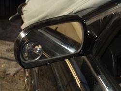 1991-1995 Legend sedan Driver door black mirror