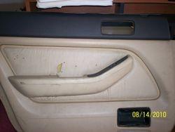 1991-1995 Legend left rear door panel Type F