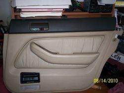 1991-1995 Legend right rear door panel type F