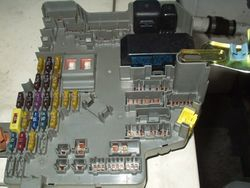 1991/1995 Legend under dash fuse box  with fuses and relays.