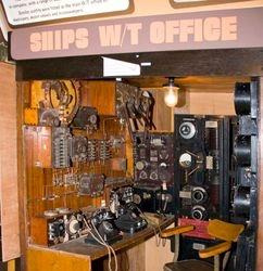 Ships radio room
