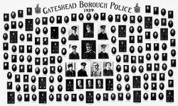 Gateshead Borough Police 1929