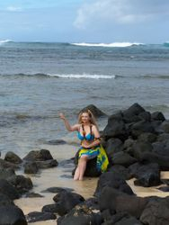 Elizabeth Ann is taken by the sea...