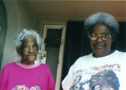 Lillie Mae Dawkins and Erma Davis
