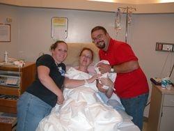 Sara, Leah, Jason and Izzy