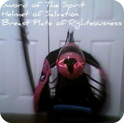 Helmet of Salvation, Breastplate of Righteousness, & Sword of The Spirit
