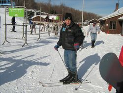 Skiing at Belleayre in the Catskills, 2008