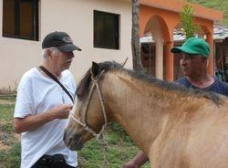 Gilberto con caballo
