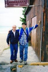 Roberto y Gilberto en Cuba 2001