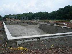 Building of Boy Scout Poconos Pool
