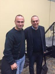 With Avram Grant