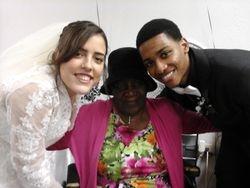 Elder and Sister Green Wedding Day
