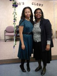 Sister Raven and First Lady