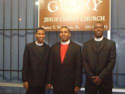 T.Green Jr. & Apostle Green & Pastor Washington