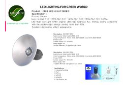 CREE LED HIBAY G01 SERIES PG.02