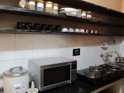 Some of the appliances in the Kitchen