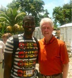 President Bill Clinton Visit Haiti