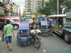 Tricycles - Chinatown - Manila