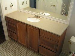 New Vanity, Sink & Top