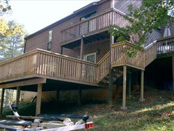 McPetrie Home After Deck Installation