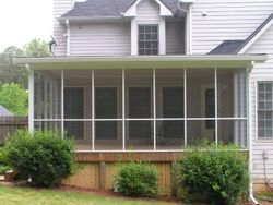 Riley After Conversion to Screened Porch