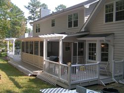 Completed Quigley Deck & Screen Porch