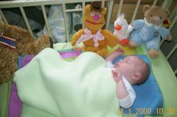 New born and in hospital