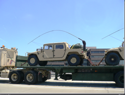 M1097 w/HARRIS Antennae