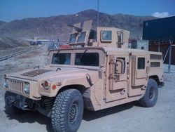 US Air Force M1116 Afghanistan 1/4 profile front