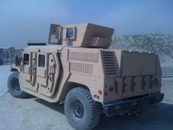 US Air Force M1116 Afghanistan 1/4 profile rear