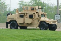 M1151 in FRAG 6 armor configuration