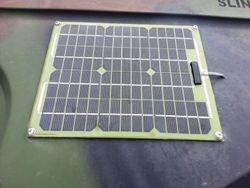 Exterior Solar Power Panel on M1165