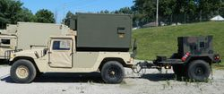 M1097 w/Shelter and Power Unit