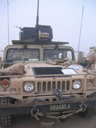 2168th guntruck, Iowa ANG, BIAP mission, Camp Navistar Kuwait, 26 FEB 2005 (2)