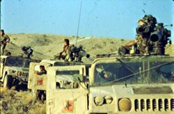 M966 OPFOR during Operation Gallant Eagle 1989