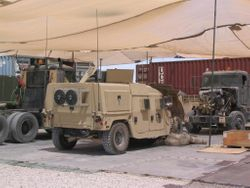 424 TC Motorpool, Arifjan, Kuwait, 8 APR 2005