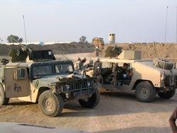 7th GRP, Guntruck escort, BIAP mission, 27 FEB 2005