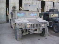 BG Scholsser, ADC-S HMMWV 22 DEC 2003, Mosul Iraq 2