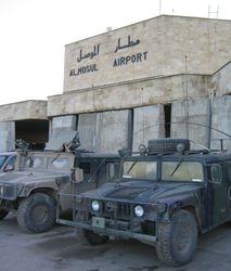 BG Scholsser, ADC-S HMMWV 22 DEC 2003, Mosul Iraq